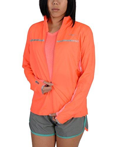Saucony Women's Speed of Lite Jacket, ViZiPRO Electric, Medium (Saucony Sonic)