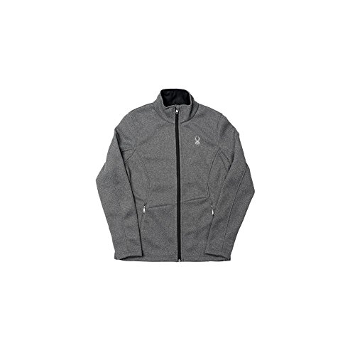 - Spyder Women's Endure Space Dye FZ Sweater, Black/White, X-Large