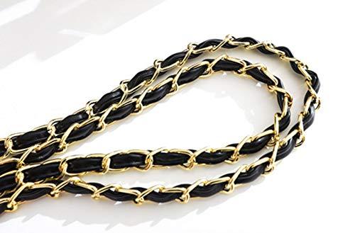 Borse Moda Donna Chain Piccola Nero Impermeabile Pochette Pelle Midsy Tracolla Borsa Antifurto Spalla Donne A1Rwxq