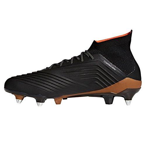 para Predator 1 000 SG Negbás Ftwbla Botas Rojsol de Hombre Adidas Negro fútbol 18 06dRW6q