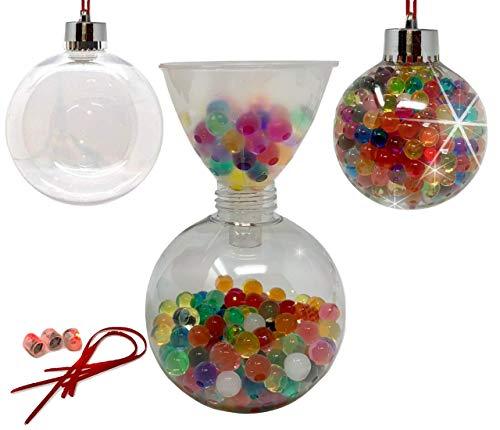 Baby Mushroom DIY Christmas Ornament Kit - Christmas Craft | Beaded Ornaments|Decorating Ornaments |Christmas Tree