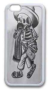 Borracho Custom iphone 6 plus 5.5 inch Case Cover TPU White