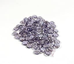 Set of 12 Flat Light Purple Marble, Light Purple Rock. .75 Lbs. Per Bag (12 Bags) 03182