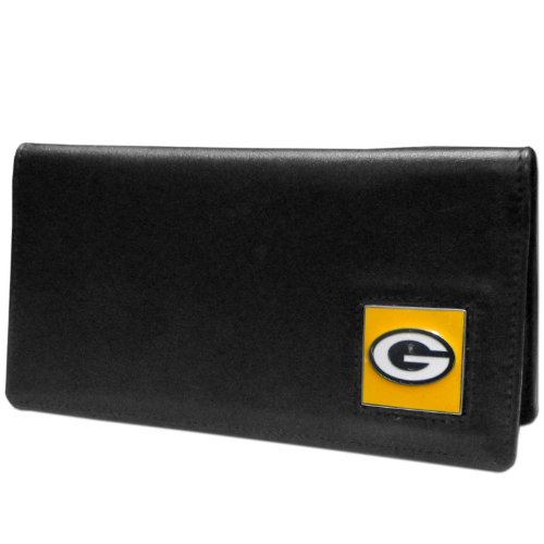 NFL Green Bay Packers Leather Checkbook Cover Checkbook Cover Nfl Football