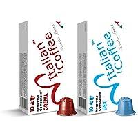 200 capsule: 100 Decaffeinato + 100 Crema compatibili Sistemi Nespresso* (10 cps.* 20 astucci) …