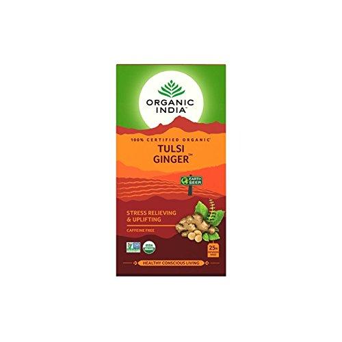 Organic India Infusión Tulsi Ginger (Jengibre) (Cada paquete ...