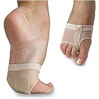 Amatt Ballet Belly Dance Foot Thong Dance Paw Shoes Half Sole Forefoot (Foot Thong)
