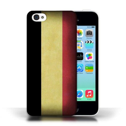iCHOOSE Print Motif Coque de protection Case / Plastique manchon de telephone Coque pour Apple iPhone 5C / Collection Drapeau / Belgique