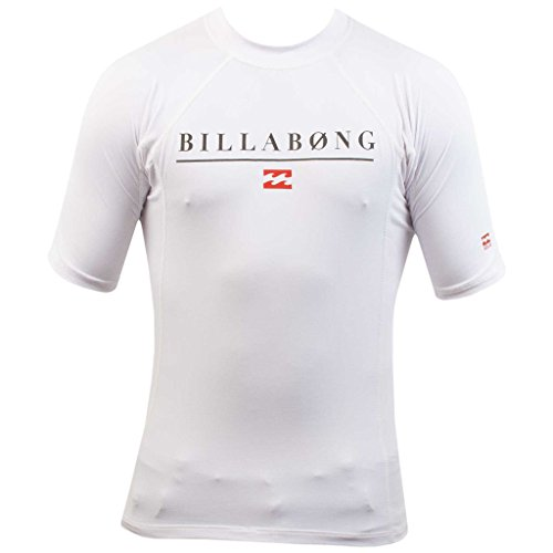 Billabong Boys' All Day Rashguard White 16 by Billabong
