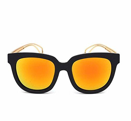 multicolor y sol Gafas a Opcional de RDJM gafas Gafas sol plástico d europeo con sol mujer montura para UV400 metálica de de estilo dHYdwxqz4n