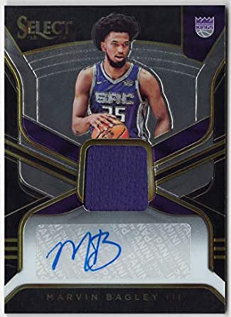 new styles d563e f1bbc Amazon.com: Marvin Bagley III 2018-19 Panini Select Rookie ...