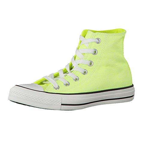 Converse Ct Wash Neon Ox 288300-55-13 - Zapatillas de tela para mujer Neon Yellow