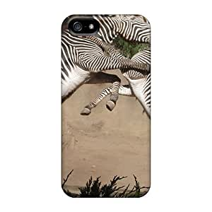 Hot Fashion Wnv13319QpDs Design Cases Covers For Iphone 5/5s Protective Cases (zebra Fight)