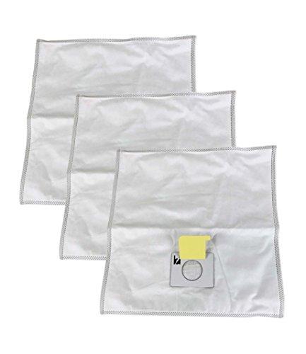 3 Kenmore HEPA Style Type C Cloth Allergen Bags Designed ...