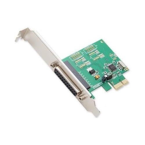 SYBA SI-PEX10010 Parallel (DB25 IEEE1284 Printer) 1 Port PCI-e Controller Card with Full & Low Profile Brackets WCH382L Chipset - Syba SI-PEX10010