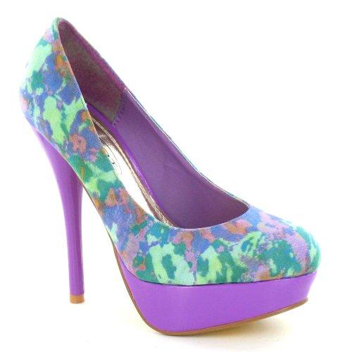 vestir de On sintético de Zapatos mujer Spot azul para azul material wqSt7xtEC