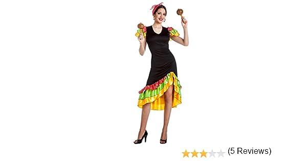 DISFRAZ RUMBERA TALLA XL: Amazon.es: Juguetes y juegos
