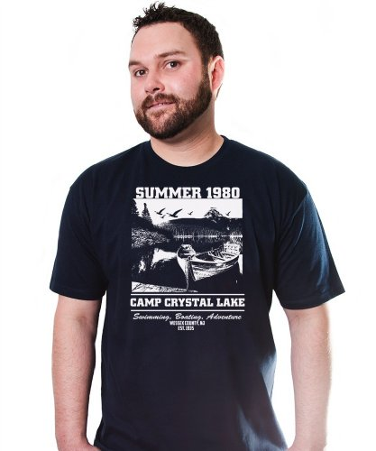 Camp Crystal Lake Summer 1980 T-Shirt Funny Adult Mens Cotton Tee Sizes S-5XL