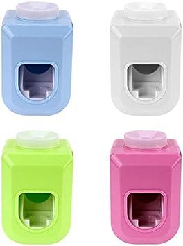 Dispensador de pasta de dientes con el mejor diseño, dispensador automático de pasta de dientes exprime la pared del tubo de baño, exprimidor de tubos, exprimidor de pasta de dientes, exprimidor de