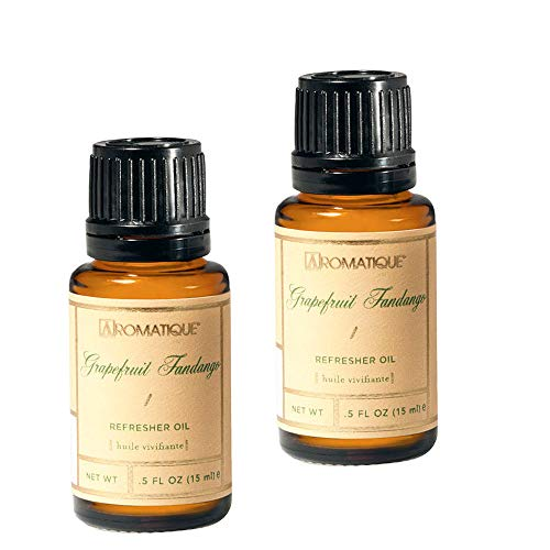 (Aromatique Package of Two (2) 1/2 Ounce Refresher Oils in Grapefruit Fandango)