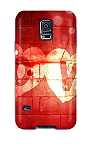 High-quality Durable Protection Case For Galaxy S5(funny Loves For Facebook)