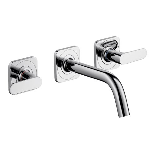 AXOR AXOR Citterio M  Modern 2-Handle  4-inch Tall Bathroom Sink Faucet in Chrome, 34315001