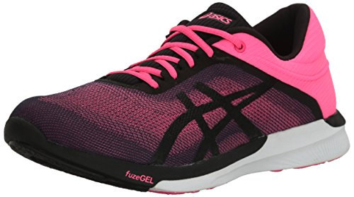 Asics Women's Fuzex Rush Running Shoe - Hot Pink/Black/Wh...