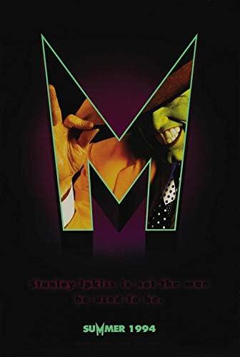 The Mask 13 5 X20 Original Promo Movie Poster 1994 Jim Carrey Cameron Diaz At Amazon S Entertainment Collectibles Store