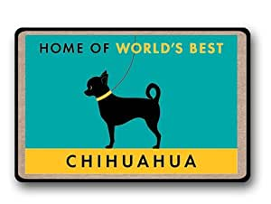 World's Best Chihuahua Floor Cushion Mat Pad Bedroom Decoration