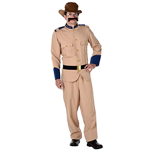 Costume Culture Men's Teddy Roosevelt Adult Extra Large, ()