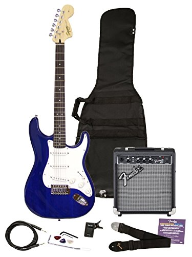 Squier by Fender Affinity Series Strat with Fender Frontman 10G Amp