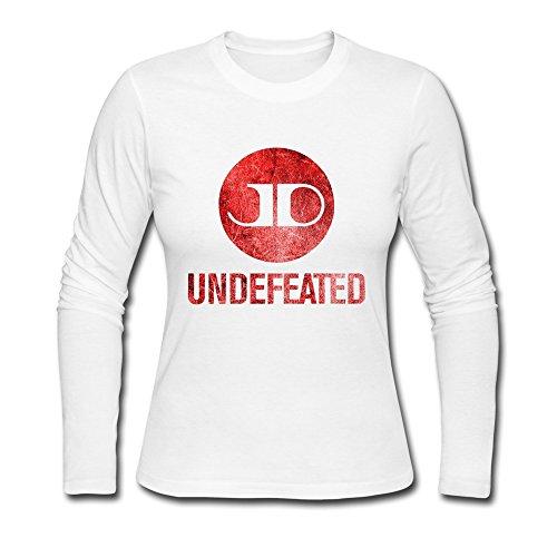 TTATT Women's Jason Derulo Undefeated Fan Art Long Sleeve Crewneck T-shirt