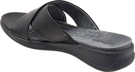 Sandalo Da Donna In Morbida Nappa Nero Sandalo