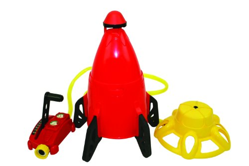 Hydro Launch Splash Water Rocket Outdoor Sprinkler Toy by Discovery Toys by Discovery Toys