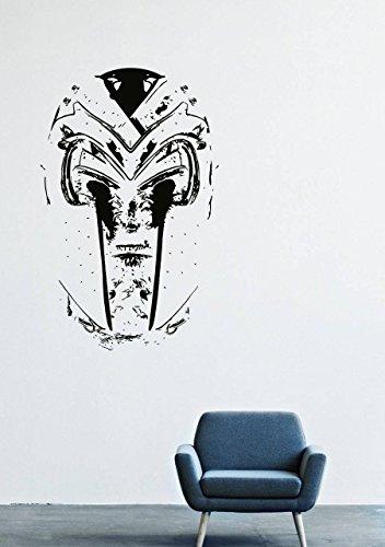 Price comparison product image Wall Decals Decor Vinyl Magneto Super Evil Helmets Suit DS Comics X-Men GMO0530