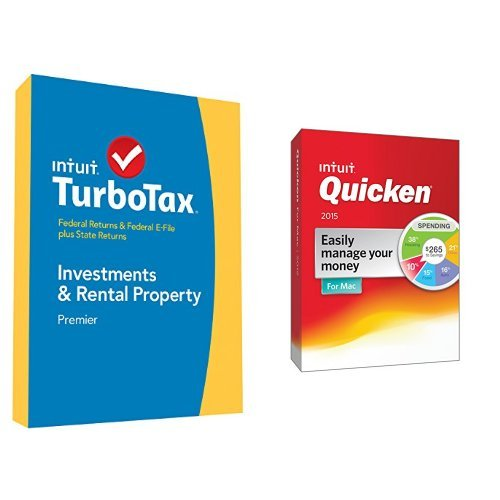 TurboTax Premier 2014 and Quicken for Mac 2015