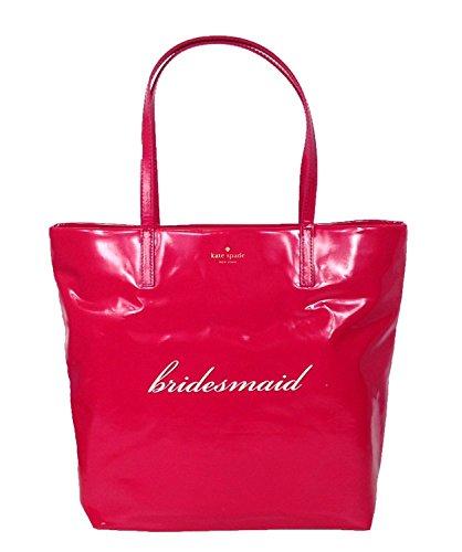 Kate Spade New York Wedding Belles 'Bridesmaid' Bon Shopper Tote, Pink