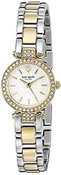 kate spade new york Women's 1YRU0722 Tiny Gramercy Two-Tone Bracelet Watch
