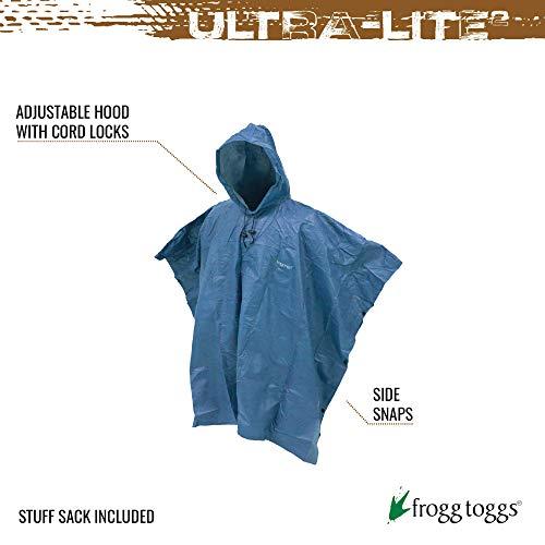 FROGG TOGGS Ultra-Lite2 Waterproof Beathable Rain Poncho