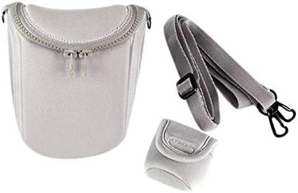 Camera/Video Bags - Waterproof Soft Camera Bag Case With Strap For for Canon Eos M100 M50 M10 M6 M5 M3 M2 G1Xiii G1Xii Sx530 Sx540 Sx430 And For Panason (Gray)