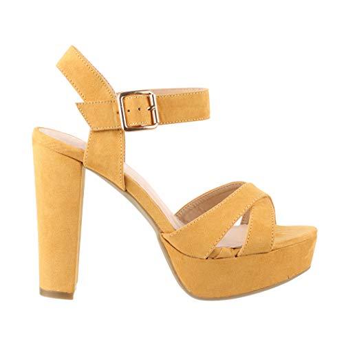 Paris Elara Chiusura Yellow T a Donna 6qOwFXq