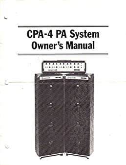randall instruments cpa 4 pa system amp amplifier public address rh amazon com Service Manuals Car Owners Manual