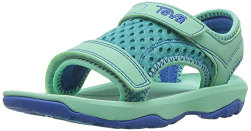 Teva Girls' T Psyclone XLT Sport Sandal, sea Glass, 10 M US Toddler ()