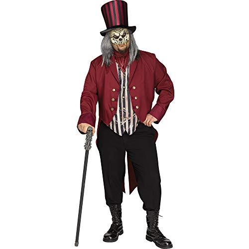 Fun World Men's Freak Show Ringmaster Plsz, Multi Plus -