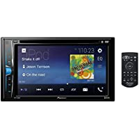 Pioneer AVH-A205BT Touch-screen AV Multimedia player with Bluetooth, iPod/iPhone, USB & Aux-In, 6.2
