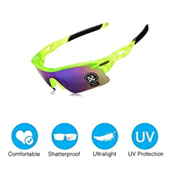 Amabest Driving Glasses with Leather Gla...