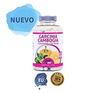 Garcinia Cambogia con L-Carnitina y té verde para reducir