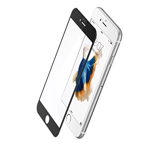 """BBEART Baseus 0.23mm PET Soft Anti-Blue light Frosted Arc Edge 3D Screen Tempered Glass Film For iPhone 6/6s/6 Plus/6s Plus (Black 4.7"""")"""