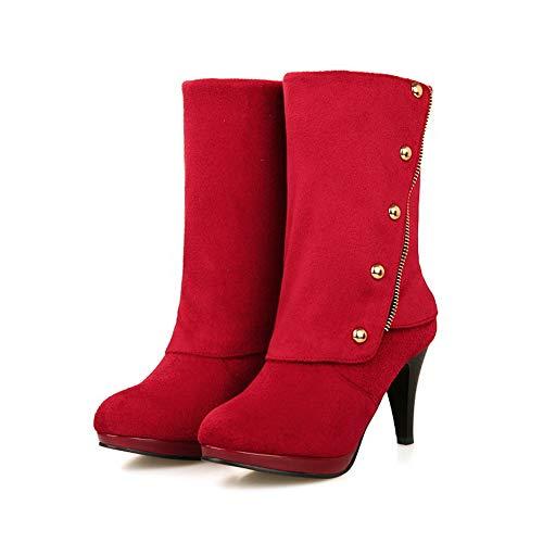 Compensées Femme Eu Balamasa Red Sandales 5 Rouge 36 Abl10986 xpECF