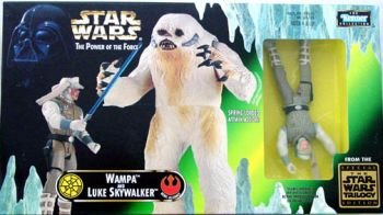 Star Wars Power of the Force Beast Pack with Wampa and Luke Skywalker Action Figures